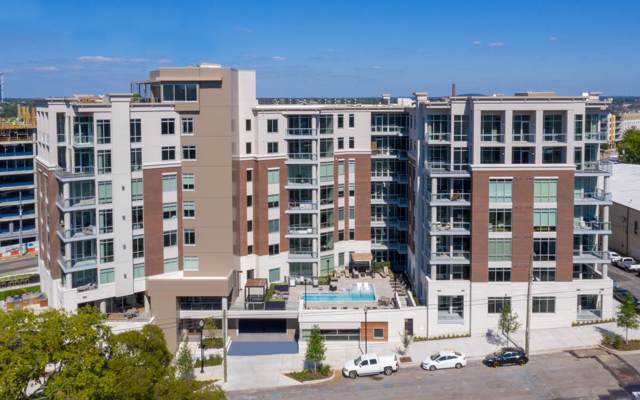 20 Rutledge St #506, Nashville, TN 37210 (MLS #RTC2077985) :: The Milam Group at Fridrich & Clark Realty