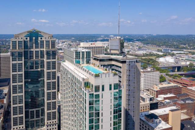 415 Church St Apt 1009 #1009, Nashville, TN 37219 (MLS #RTC2078795) :: Armstrong Real Estate