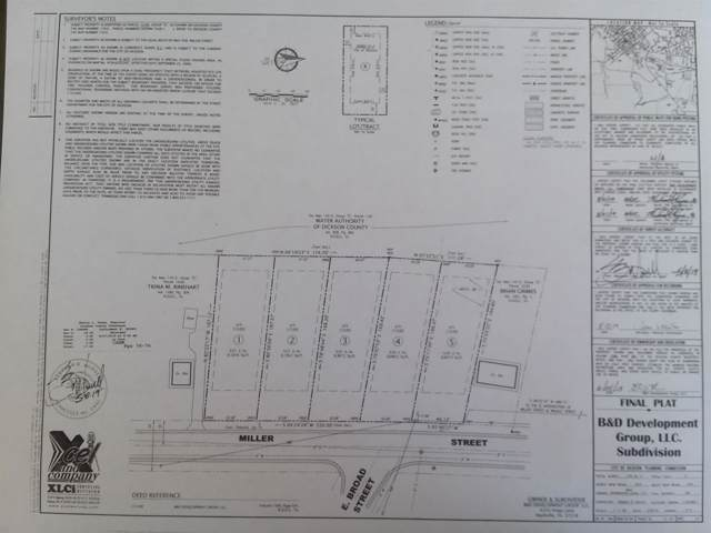206 Miller Street_Lot 1, Dickson, TN 37055 (MLS #RTC2082410) :: The Miles Team | Compass Tennesee, LLC
