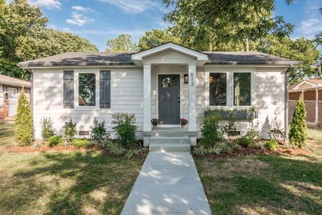613 2nd St N, Nashville, TN 37207 (MLS #RTC2082890) :: RE/MAX Choice Properties