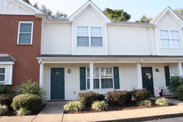 315 Shoshone Pl, Murfreesboro, TN 37128 (MLS #RTC2083582) :: Five Doors Network
