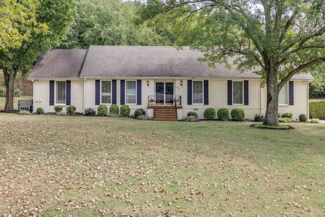 1007 Mooreland Blvd, Brentwood, TN 37027 (MLS #RTC2083713) :: RE/MAX Homes And Estates