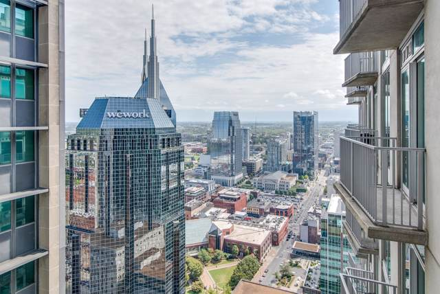 415 Church St #2807, Nashville, TN 37219 (MLS #RTC2084605) :: Ashley Claire Real Estate - Benchmark Realty