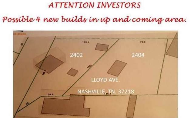 2402 Lloyd Ave, Nashville, TN 37218 (MLS #RTC2086826) :: RE/MAX Homes And Estates