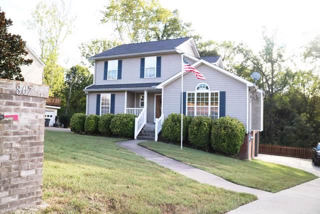 807 Sugarcane Way, Clarksville, TN 37040 (MLS #RTC2088828) :: Berkshire Hathaway HomeServices Woodmont Realty