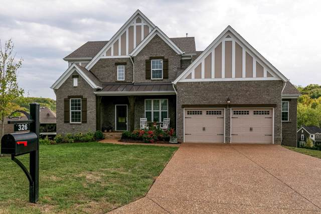 326 Crescent Moon Cir, Nolensville, TN 37135 (MLS #RTC2090482) :: Village Real Estate