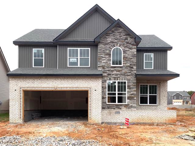 160 Locust Run, Clarksville, TN 37043 (MLS #RTC2090810) :: Team Wilson Real Estate Partners