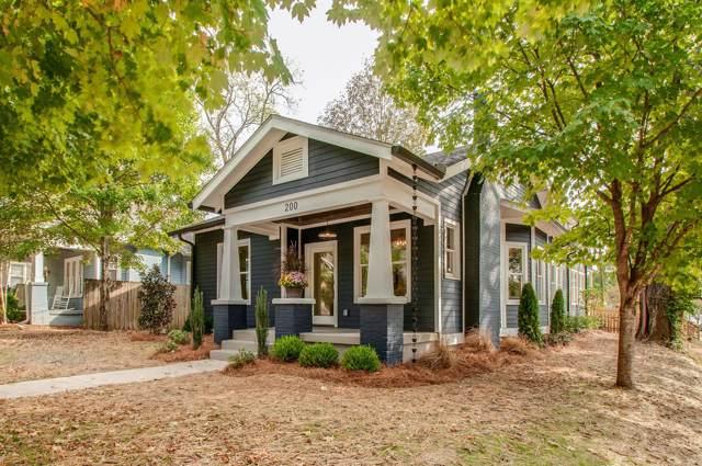 200 Fall St, Nashville, TN 37206 (MLS #RTC2091059) :: DeSelms Real Estate