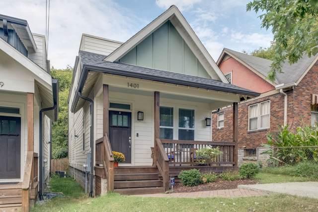1401 Chester Ave, Nashville, TN 37206 (MLS #RTC2091641) :: Village Real Estate