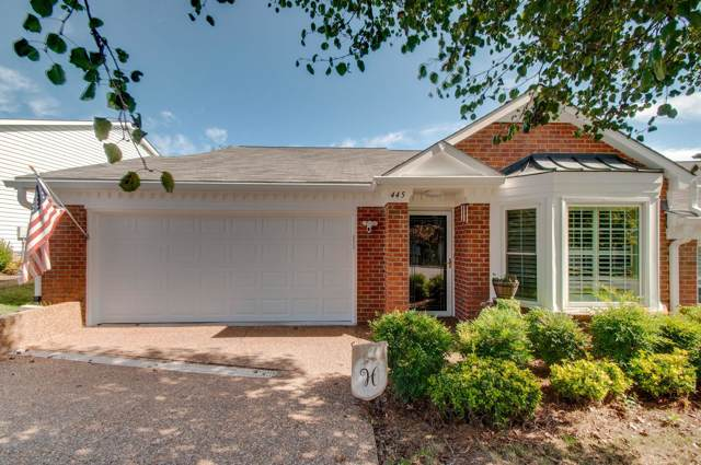 445 Siena Dr, Nashville, TN 37205 (MLS #RTC2092362) :: HALO Realty
