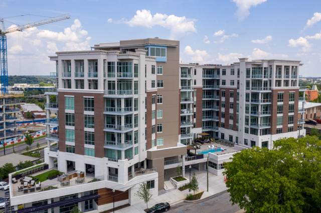 20 Rutledge Street Unit 711 #711, Nashville, TN 37210 (MLS #RTC2095367) :: The Kelton Group
