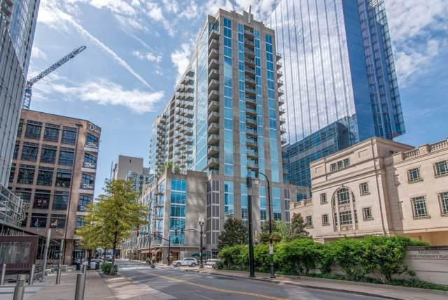 301 Demonbreun St #607, Nashville, TN 37201 (MLS #RTC2096005) :: RE/MAX Choice Properties