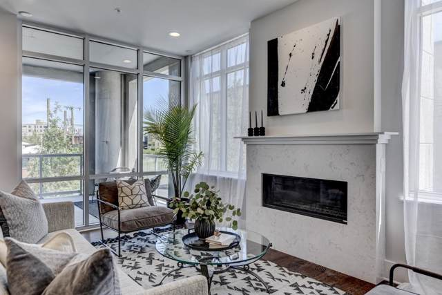 20 Rutledge St #109, Nashville, TN 37210 (MLS #RTC2097540) :: Ashley Claire Real Estate - Benchmark Realty