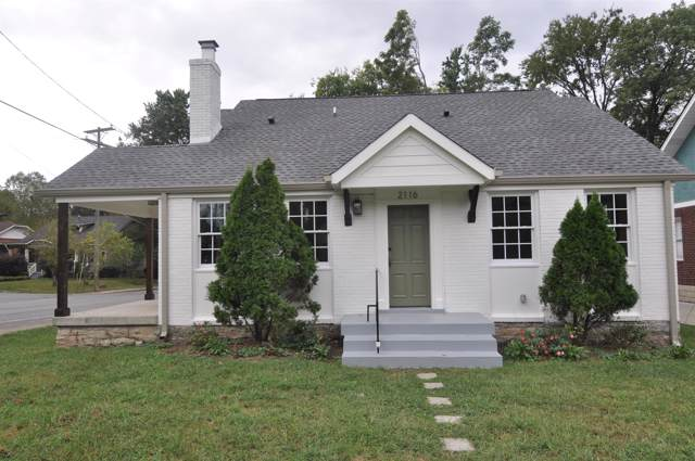 2116 Pontotoc Ave, Nashville, TN 37206 (MLS #RTC2098510) :: The Group Campbell powered by Five Doors Network