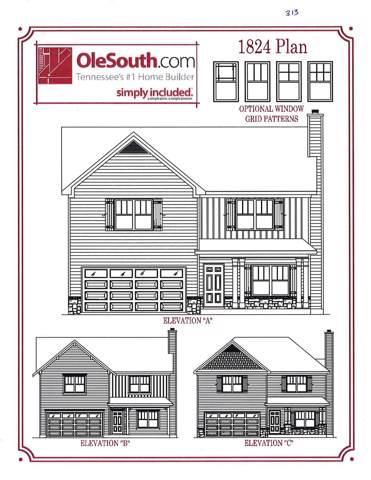 4444 Nickel Trace Lot 313, Murfreesboro, TN 37128 (MLS #RTC2099002) :: Berkshire Hathaway HomeServices Woodmont Realty