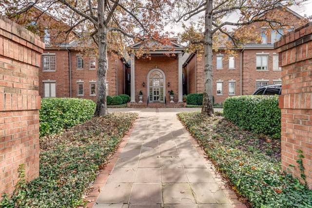 3733 West End Ave Apt 104 #104, Nashville, TN 37205 (MLS #RTC2099039) :: RE/MAX Choice Properties