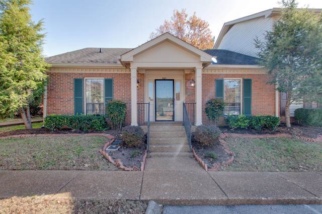 821 Brentwood Point, Brentwood, TN 37027 (MLS #RTC2099152) :: HALO Realty