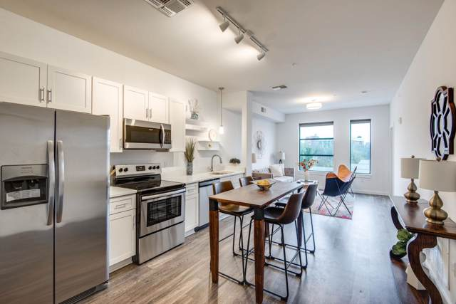 1900 12th Ave S # 205, Nashville, TN 37203 (MLS #RTC2099563) :: Nashville on the Move