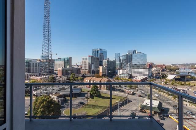 20 Rutledge St #601, Nashville, TN 37210 (MLS #RTC2099846) :: Nashville on the Move