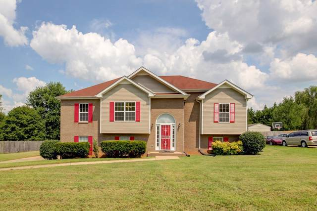 3329 Greenspoint Dr, Clarksville, TN 37042 (MLS #RTC2100339) :: The Kelton Group