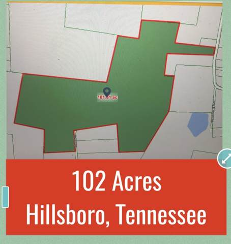 0 Simmons Rd (102 Acres), Hillsboro, TN 37342 (MLS #RTC2103920) :: Village Real Estate