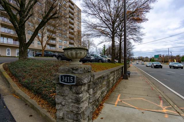 3415 W End Ave Apt 205, Nashville, TN 37203 (MLS #RTC2104783) :: Nashville on the Move