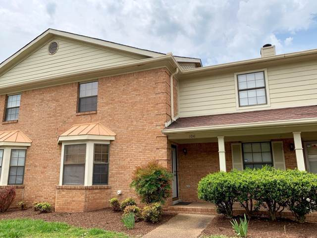 106 Ellington Pl #106, Madison, TN 37115 (MLS #RTC2105461) :: The Miles Team | Compass Tennesee, LLC