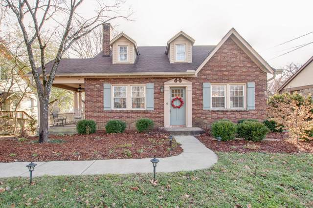 1119 Graybar Ln, Nashville, TN 37204 (MLS #RTC2105903) :: The Miles Team | Compass Tennesee, LLC