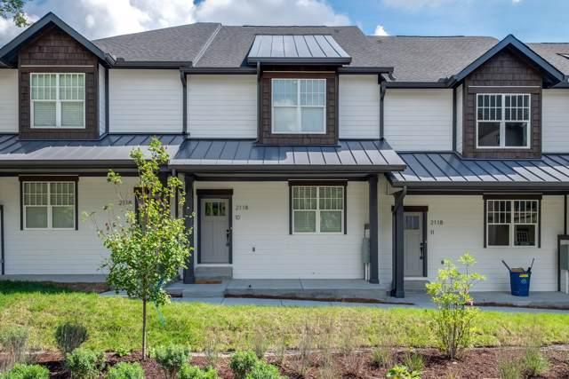 2118 Elliott Ave #10, Nashville, TN 37204 (MLS #RTC2107190) :: RE/MAX Choice Properties