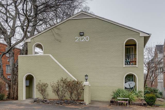 2120 Fairfax Ave #9, Nashville, TN 37212 (MLS #RTC2109445) :: RE/MAX Homes And Estates