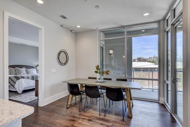 20 Rutledge St #209, Nashville, TN 37210 (MLS #RTC2111486) :: FYKES Realty Group