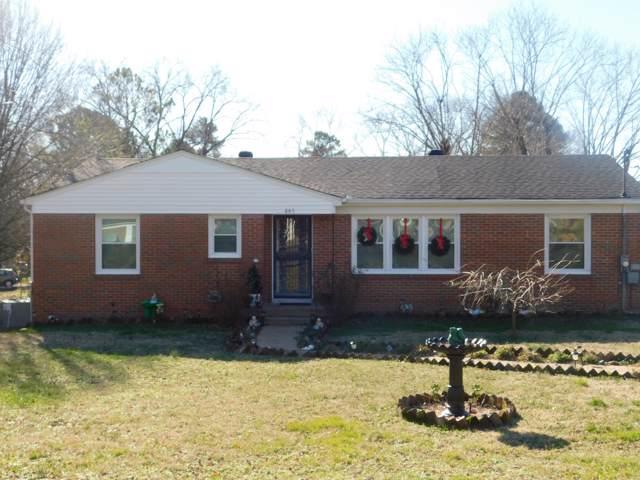 845 Fairlane Dr, Lewisburg, TN 37091 (MLS #RTC2112193) :: Team Wilson Real Estate Partners