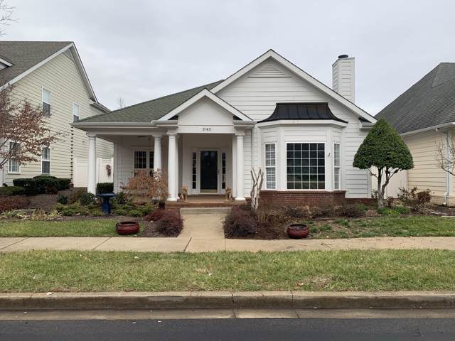 2163 Veranda Pl, Murfreesboro, TN 37130 (MLS #RTC2112273) :: John Jones Real Estate LLC