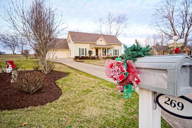 269 Treetop Trl, Lawrenceburg, TN 38464 (MLS #RTC2112410) :: Village Real Estate