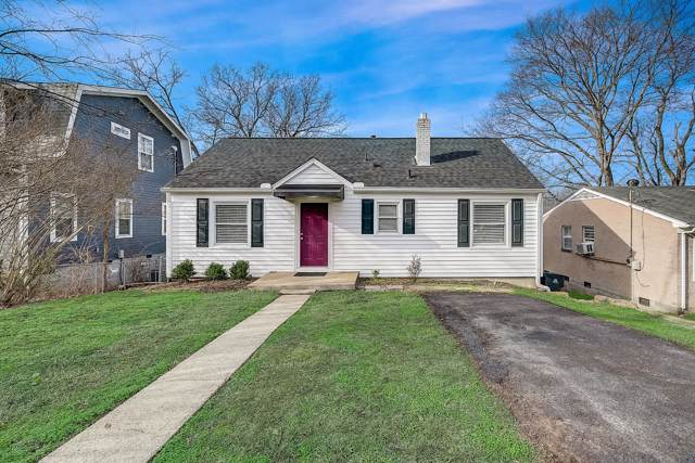 511 Stevenson St, Nashville, TN 37209 (MLS #RTC2113195) :: Ashley Claire Real Estate - Benchmark Realty