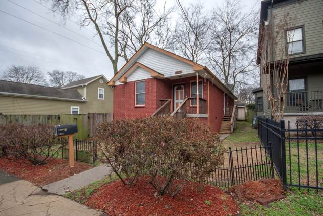 1015 9th Ave N, Nashville, TN 37208 (MLS #RTC2114869) :: Ashley Claire Real Estate - Benchmark Realty