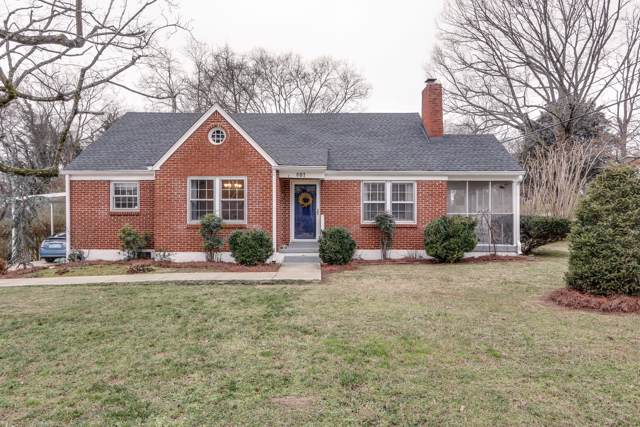 601 Mitchell Ave, Columbia, TN 38401 (MLS #RTC2116555) :: The Milam Group at Fridrich & Clark Realty