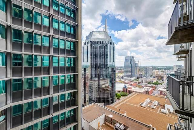 415 Church St #1707, Nashville, TN 37219 (MLS #RTC2116951) :: Ashley Claire Real Estate - Benchmark Realty