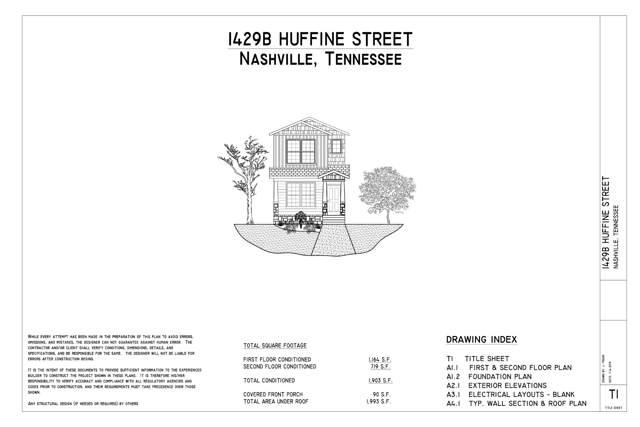 1429B Huffine St, Nashville, TN 37216 (MLS #RTC2117062) :: The Justin Tucker Team - RE/MAX Elite