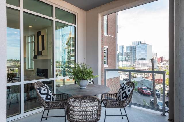 20 Rutledge St #110, Nashville, TN 37210 (MLS #RTC2118101) :: Oak Street Group