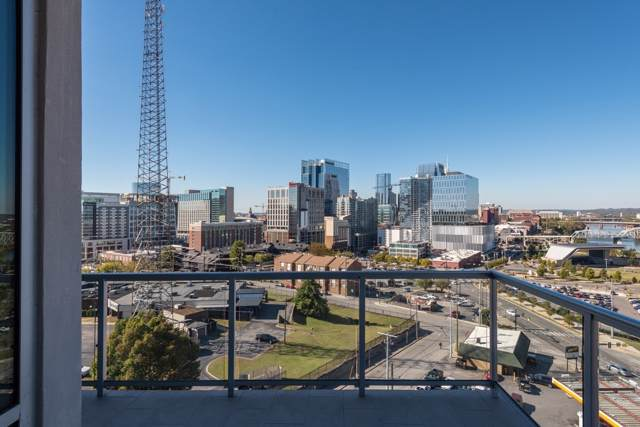 20 Rutledge St #601, Nashville, TN 37210 (MLS #RTC2118108) :: Oak Street Group