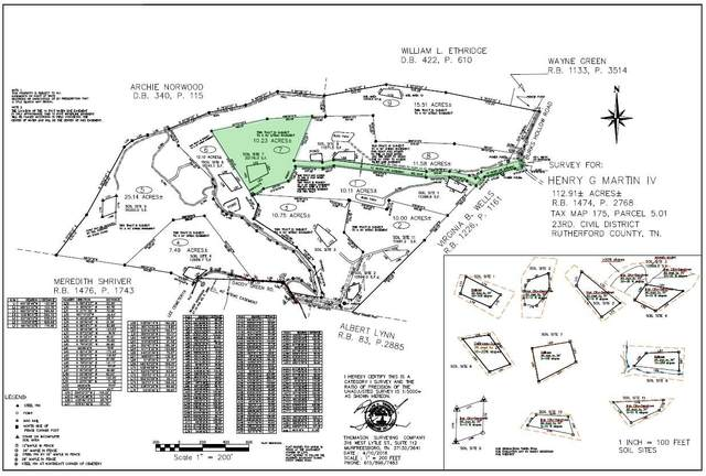 0 Burks Hollow Rd., Christiana, TN 37037 (MLS #RTC2123359) :: RE/MAX Homes And Estates