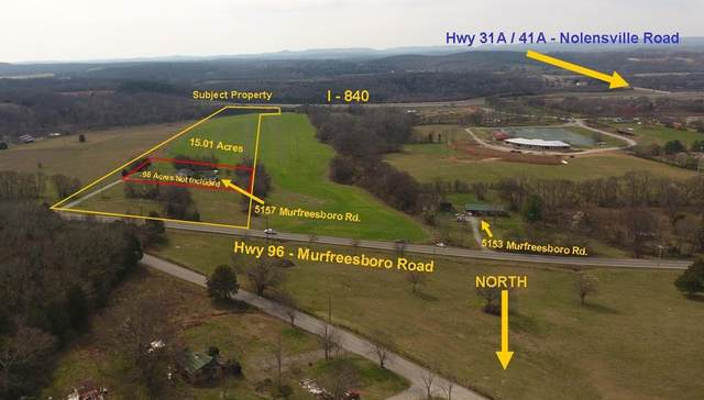 0 Murfreesboro Rd, College Grove, TN 37046 (MLS #RTC2123412) :: RE/MAX Fine Homes