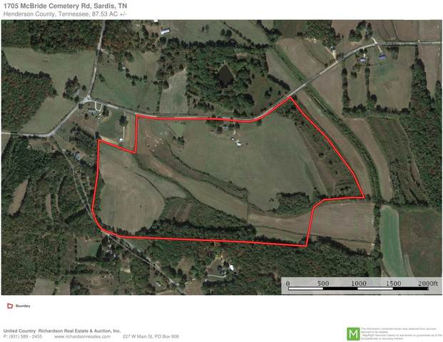 1705 Mcbride Cemetery Rd, Sardis, TN 38371 (MLS #RTC2124025) :: RE/MAX Homes And Estates