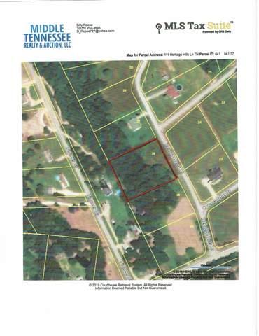 111 Heritage Hills Ln, Hohenwald, TN 38462 (MLS #RTC2132900) :: REMAX Elite