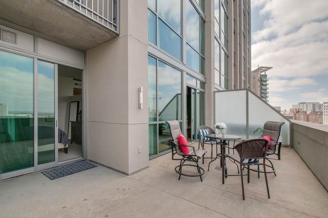 900 20th Ave S #607, Nashville, TN 37212 (MLS #RTC2135838) :: Ashley Claire Real Estate - Benchmark Realty