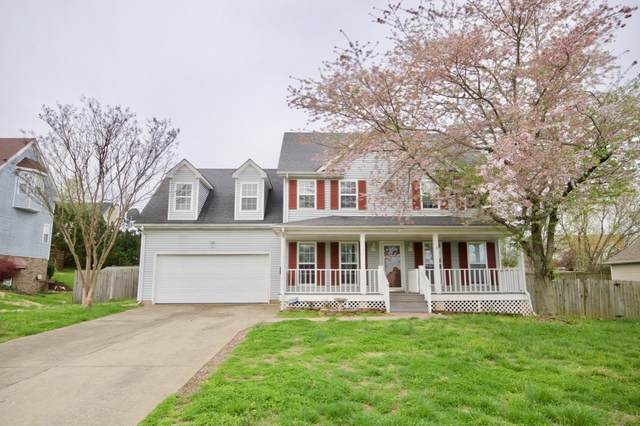 3524 Teal Dr, Clarksville, TN 37042 (MLS #RTC2136186) :: HALO Realty