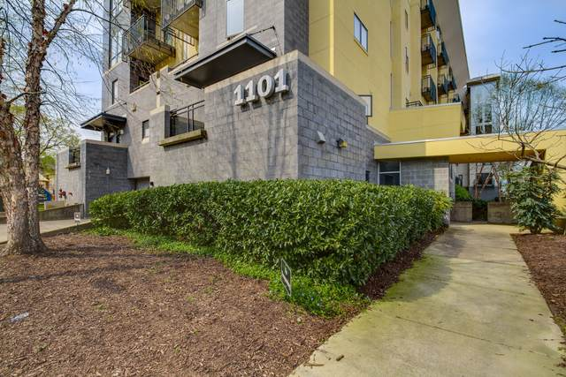 1101 18th Ave S #604, Nashville, TN 37212 (MLS #RTC2136776) :: Ashley Claire Real Estate - Benchmark Realty