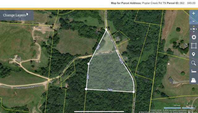 0 Poplar Creek Rd., Williamsport, TN 38487 (MLS #RTC2150269) :: Village Real Estate