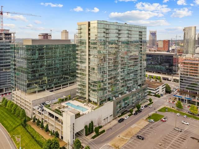 1212 Laurel St, Unit 1113 #1113, Nashville, TN 37203 (MLS #RTC2151348) :: John Jones Real Estate LLC